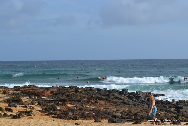 Looking for Surf on the South Shore of Kauai
