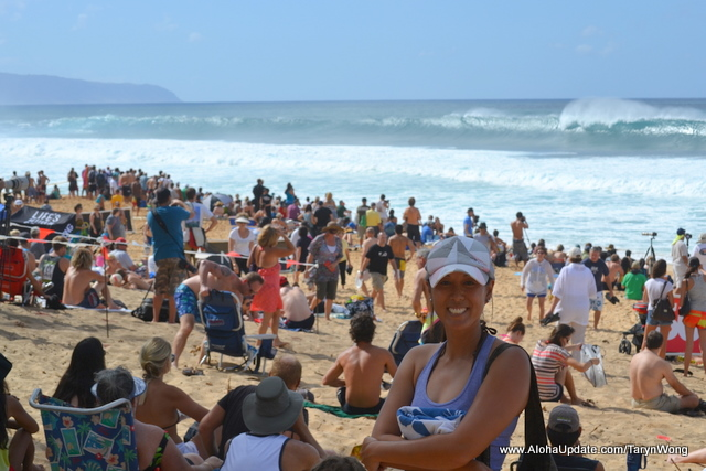 Taryn's Day 2 at the Pipe Masters