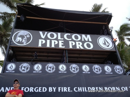 Day 1 of the Volcom Pipe Pro