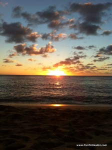 Sunset at Sunset Beach, Oahu