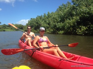 Pacific Reader Kayaking Hanalei River