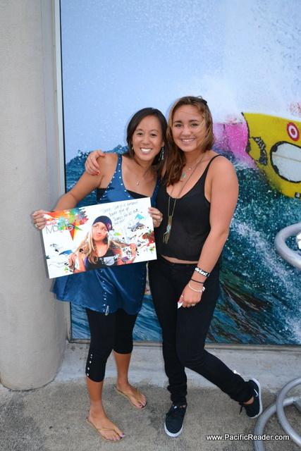 Carissa Moore Groupies: Taryn & Steven