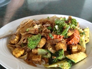 Lunch in Keahou at Royal Thai Cafe