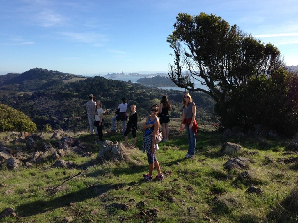 Ring Mountain Hike, Corte Madera California