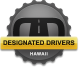 Get You & Your Car Home Safe, Call Designated Drivers Hawaii