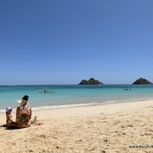 Visiting Lanikai Beach in Kailua, Hawaii
