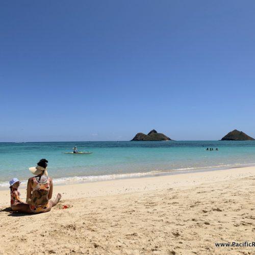 Visiting Lanikai Beach in Kailua, Hawaii